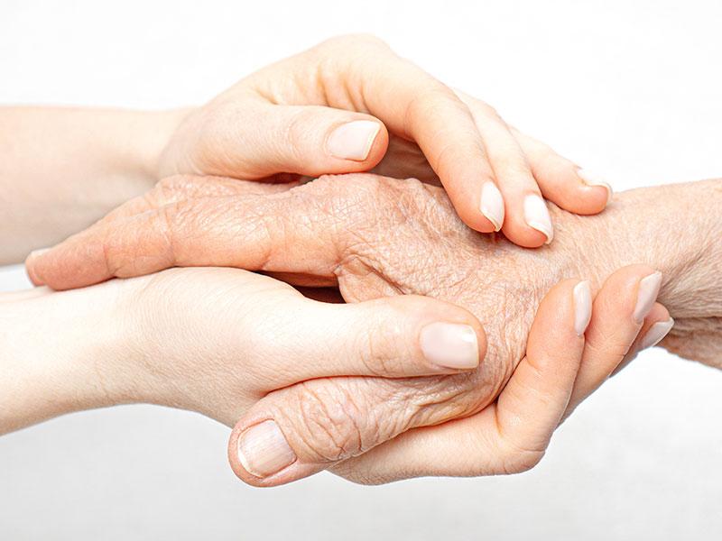 Hautalterung: jung und alt