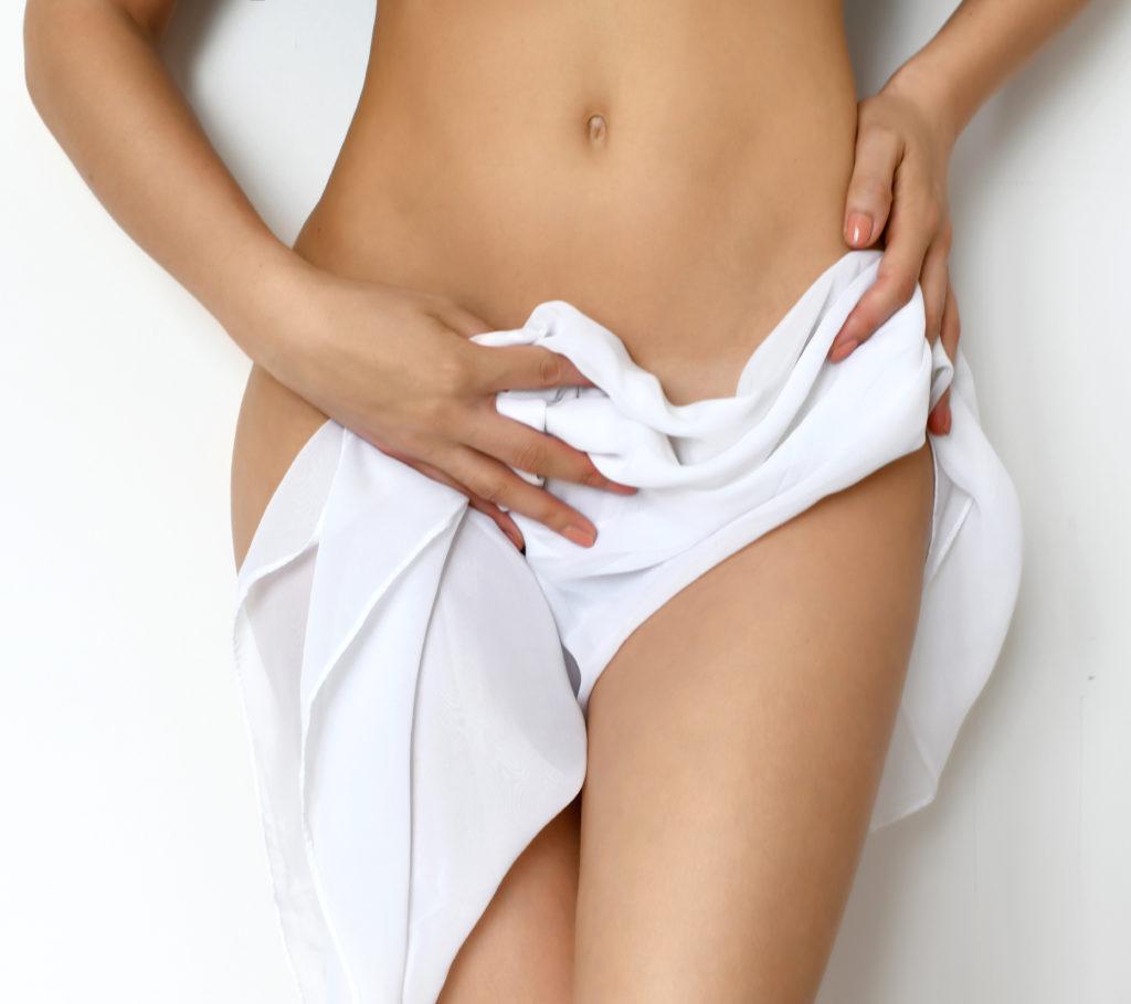 Nackter Unterkörper Frau
