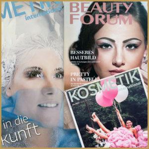 Read more about the article MEINE ARBEIT ALS FACHAUTORIN FÜR KOSMETISCHE MAGAZINE